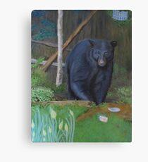 Backyard Marauder Canvas Print