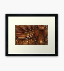 The entrence Framed Print