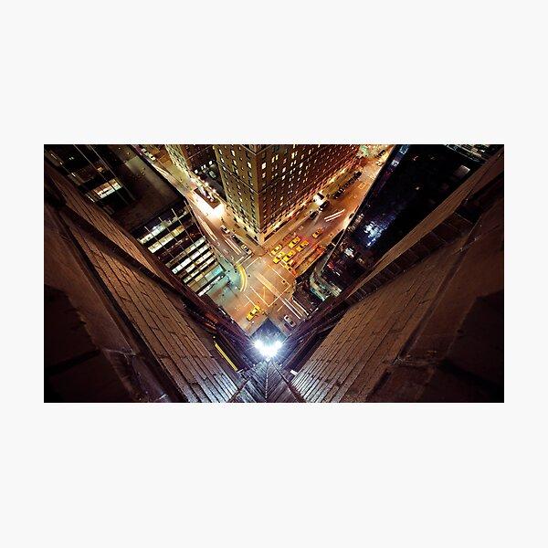 Manhattan in motion  Photographic Print