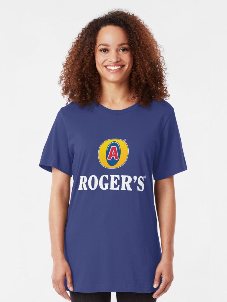 Alternate view of Roger's Lager - The Avenger Nectar Slim Fit T-Shirt