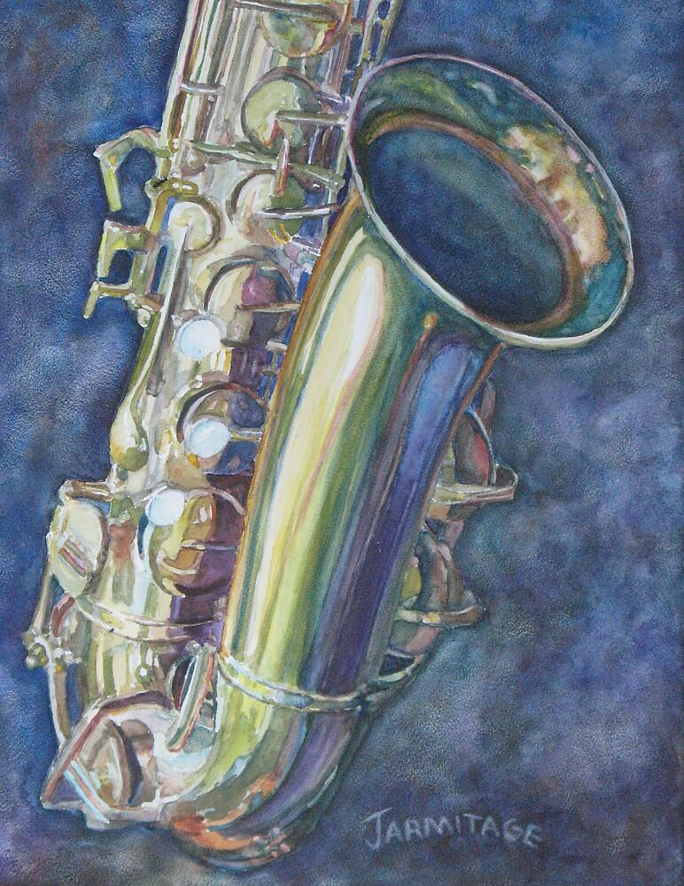 Portrait of a Sax by JennyArmitage