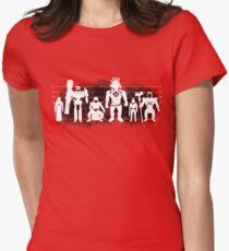 Plastic Villains / The Usual Suspects Women's Fitted T-Shirt
