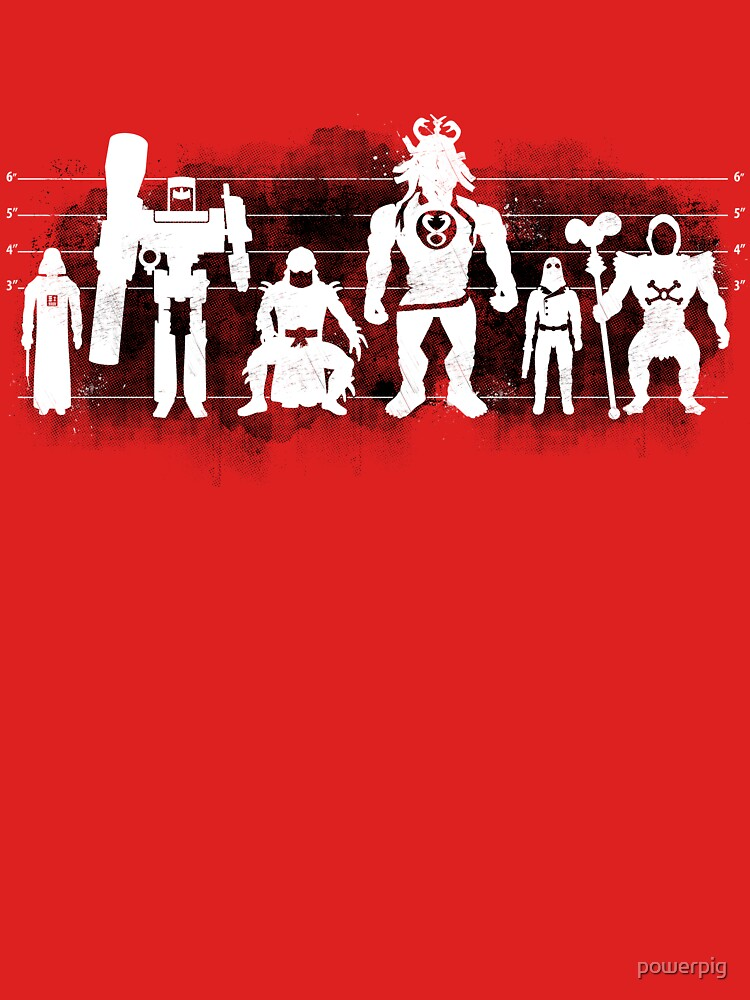 Plastic Villains / The Usual Suspects by powerpig