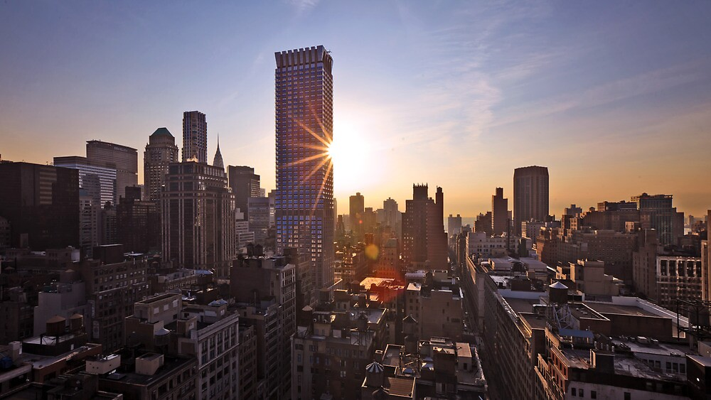 Manhattan in motion by mindrelic