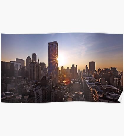 Manhattan in motion Poster