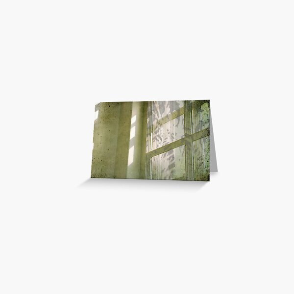 faded silvery imprints Greeting Card