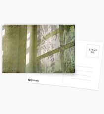 faded silvery imprints Postcards