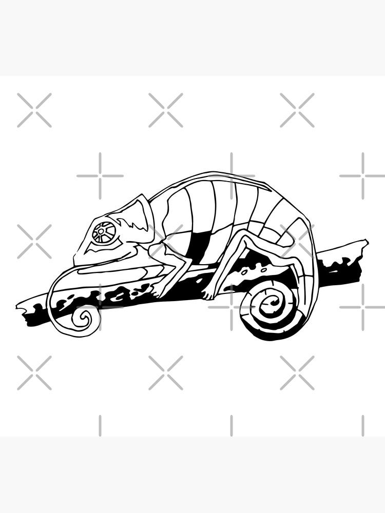 Chameleon Vector by tribbledesign