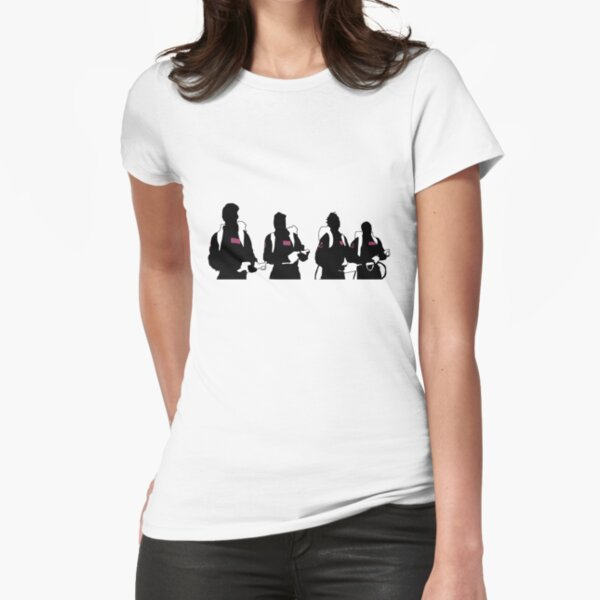 The Showdown (Light version) Fitted T-Shirt
