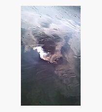 Sky reflecting on wet sand Photographic Print
