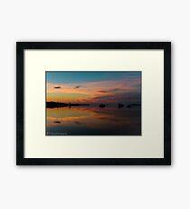 Chatham Morning Framed Print