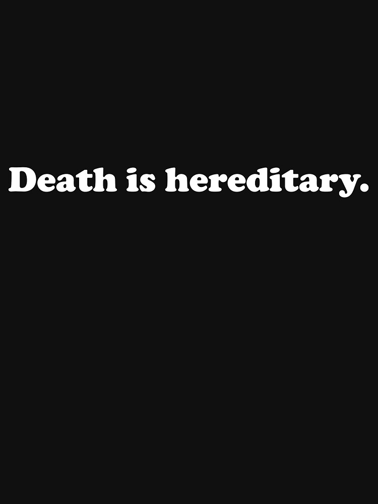 412 Death is Hereditary by AndrewGordon