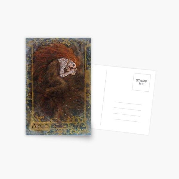 Celtic Goddess- Artio Postcard