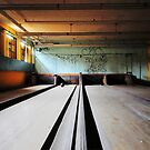 Norwich State Hospital, Underground Bowling Alley by kailani carlson