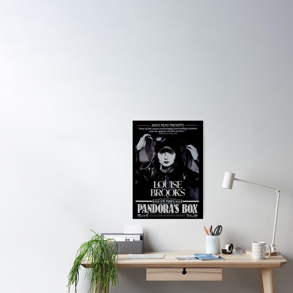 Pandora's Box 1929 Poster