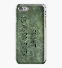 Front Towards Enemy - Claymore  iPhone Case/Skin