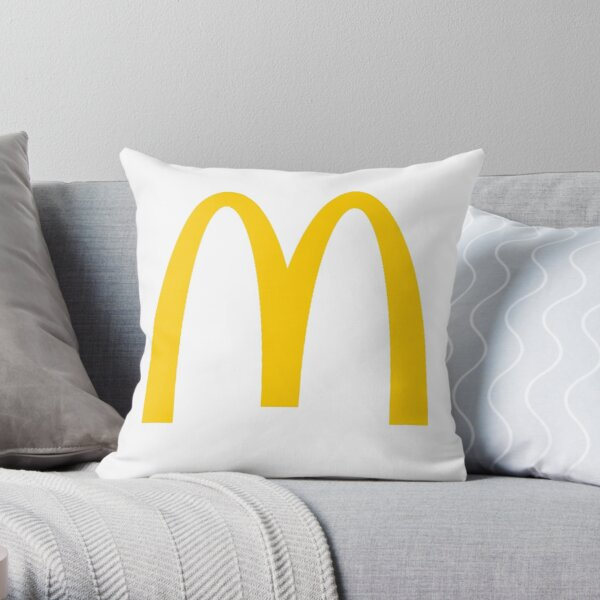 Logo MacDonalds Coussin