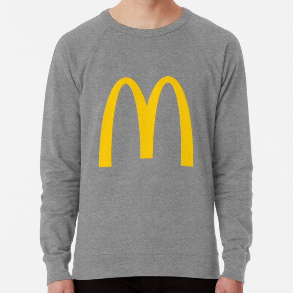 MacDonalds Logo  Lightweight Sweatshirt