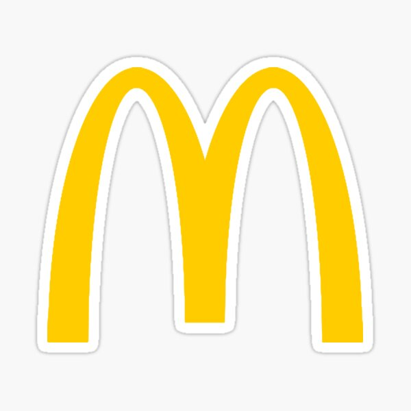 MacDonalds Logo  Sticker