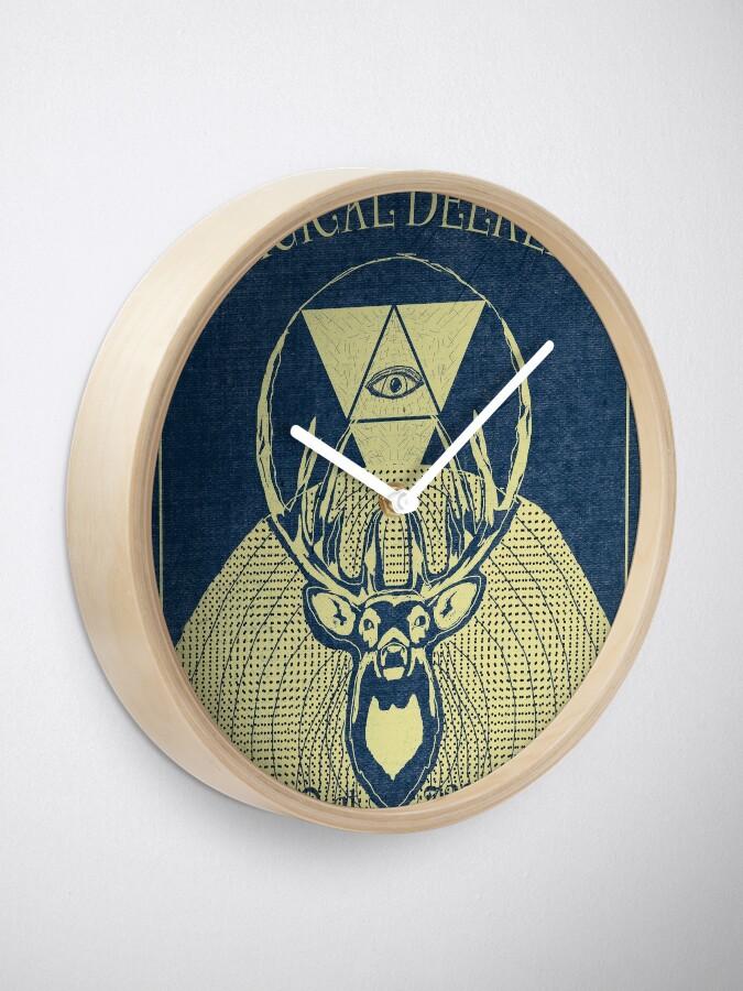 Alternate view of A Magical Deerlixr Clock