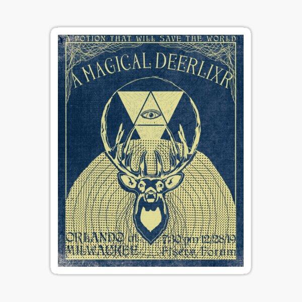 A Magical Deerlixr Sticker