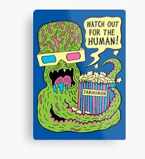Alien Monster Movie Metal Print
