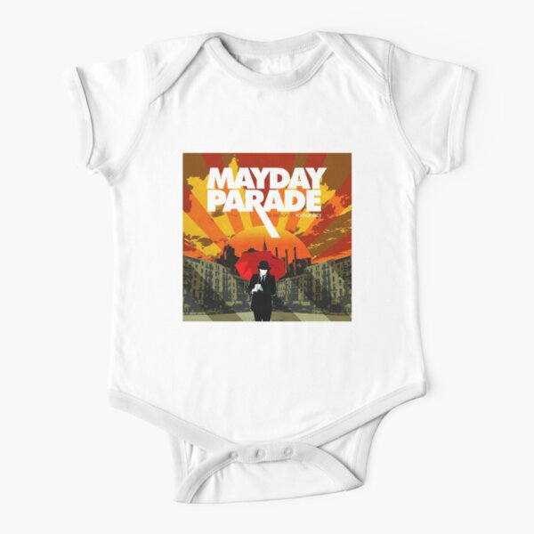 Mayday Parade A Lesson in Romantics Short Sleeve Baby One-Piece