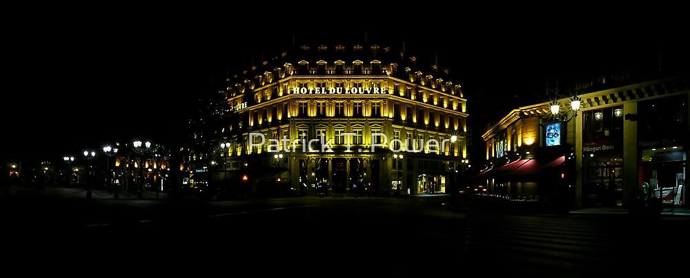 Hôtel du Louvre by Patrick T. Power