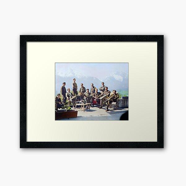 Dick Winters Framed Art Print
