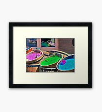 Bath Salts Framed Print