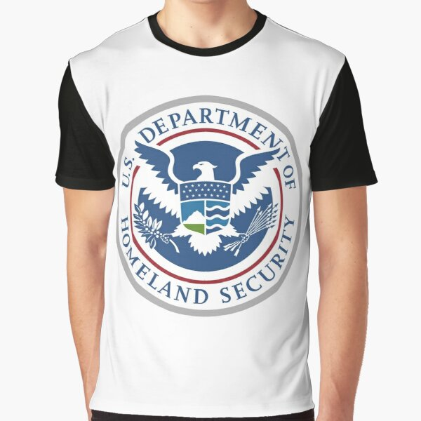 United States Department of Homeland Security, Government department Graphic T-Shirt