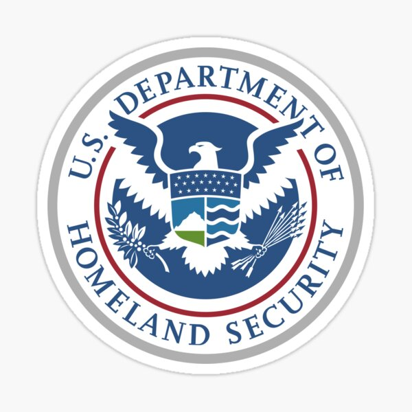 United States Department of Homeland Security, Government department Sticker