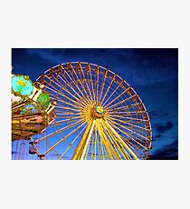 Fun at the Boardwalk Photographic Print