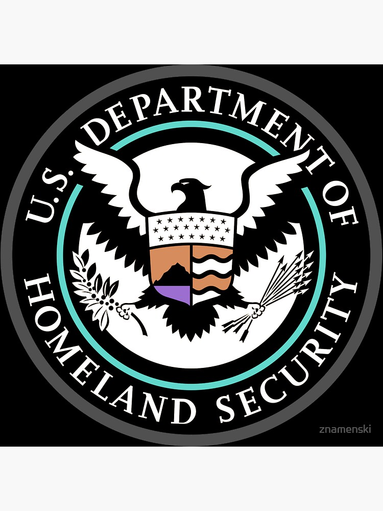 Emblem: United States Department of Homeland Security, Government department by znamenski