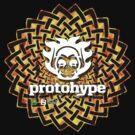 Protohype Logo - White - Special Beltane 2011 Dzyn by David Avatara