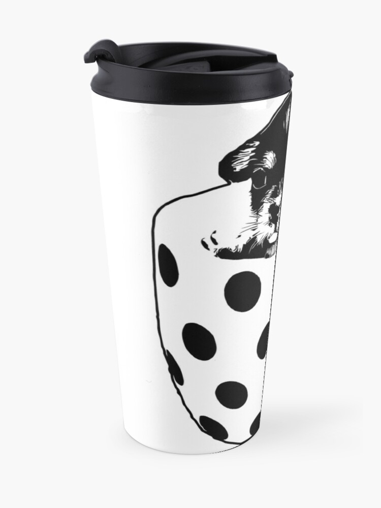 Alternate view of Pup In A Cup Vector Travel Mug