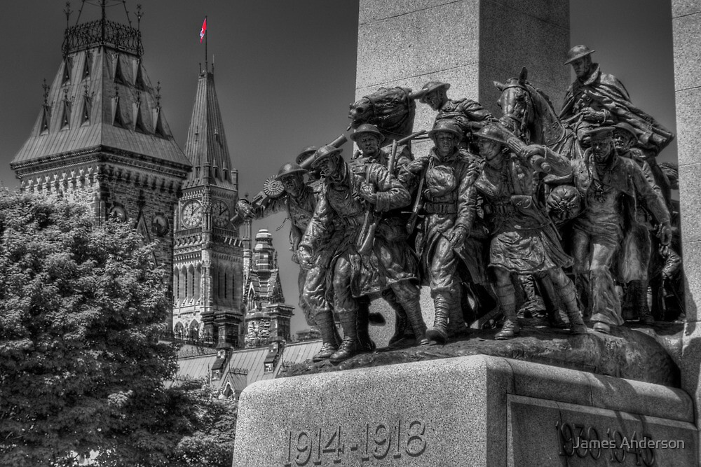 Peace and Remembrance by James Anderson