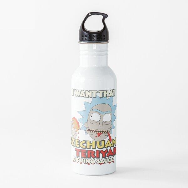 Rick And Morty Szechuan Teriyaki Dipping Sauce Water Bottle