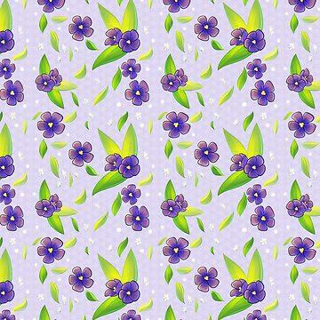 Violets by saxitlurg