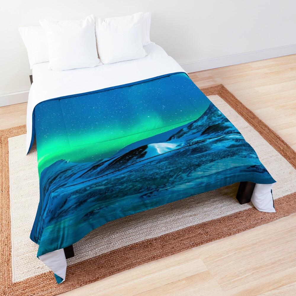 Aurora borealis Comforter