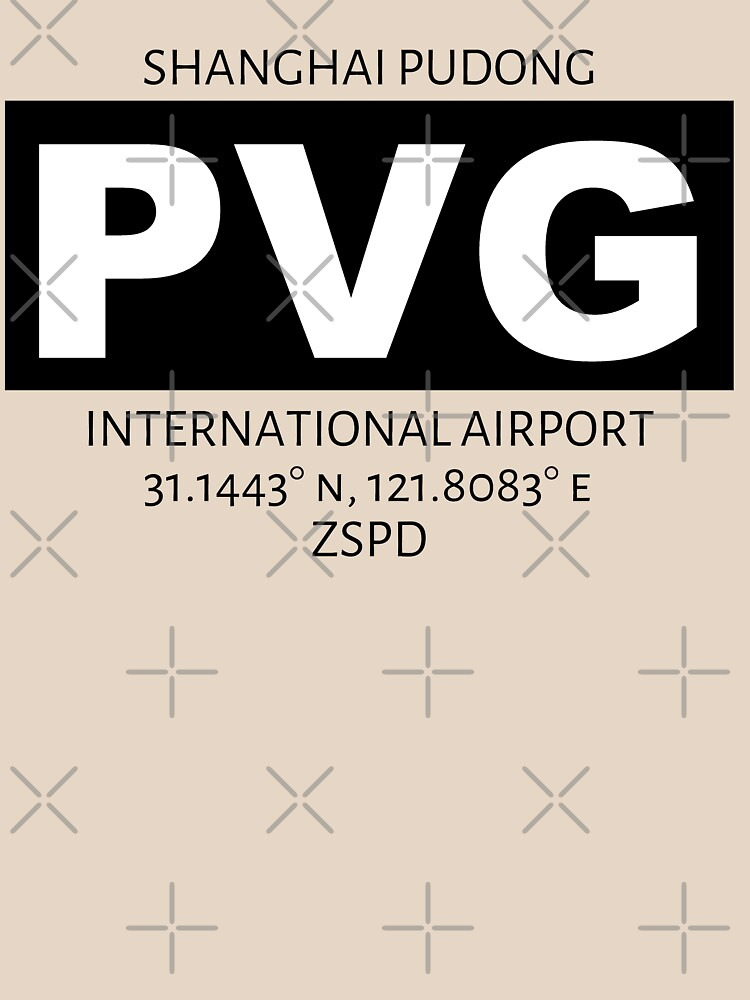 Shanghai Pudong International Airport PVG by AvGeekCentral