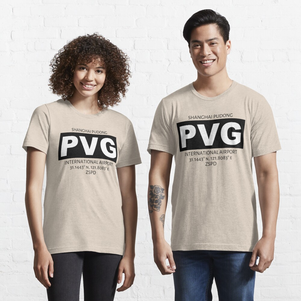 Shanghai Pudong International Airport PVG Essential T-Shirt