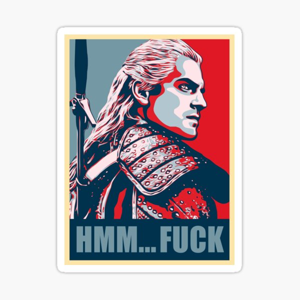 Copy of Copy of Copy of Geralt von Rivia Sticker