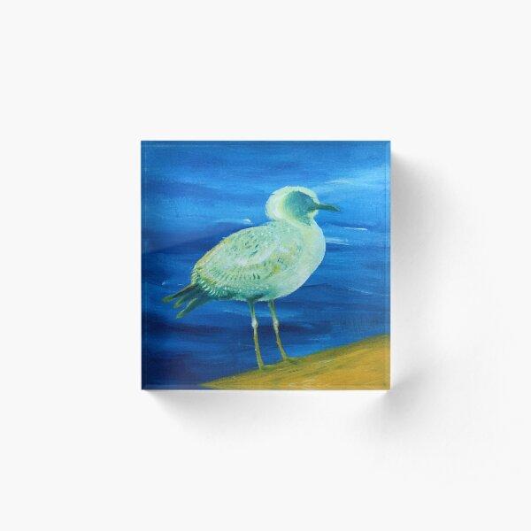 Acrylic Seagull Acrylic Block