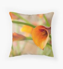 Calla Study - II Throw Pillow