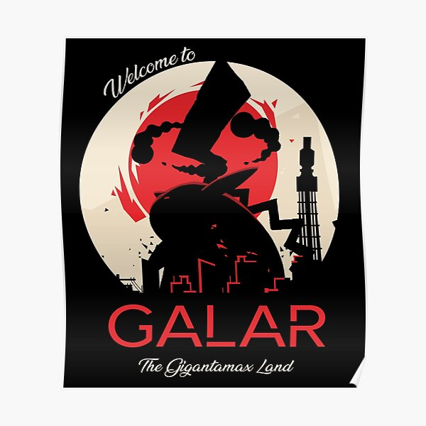 Welcome to Galar Poster