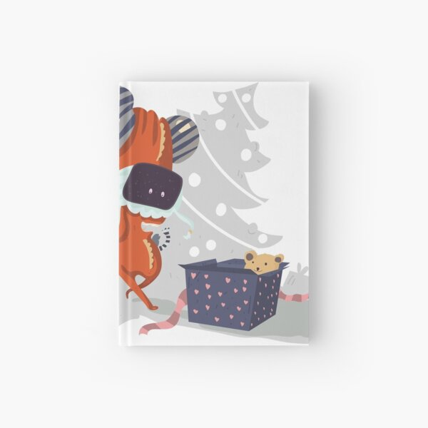 Teddy... It's for me! Hardcover Journal