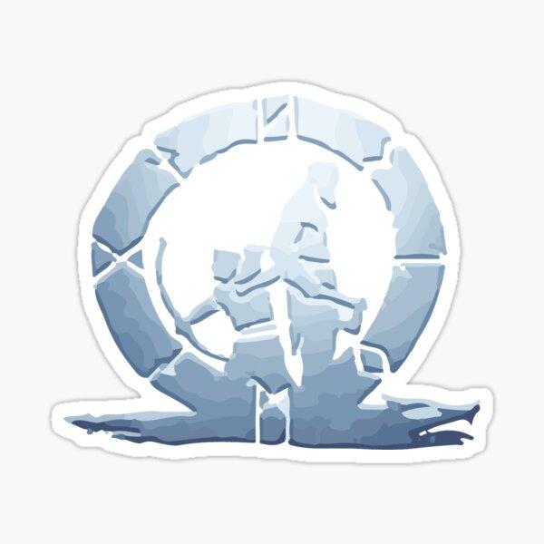 Platinum God of War (PS4) trophy Pegatina