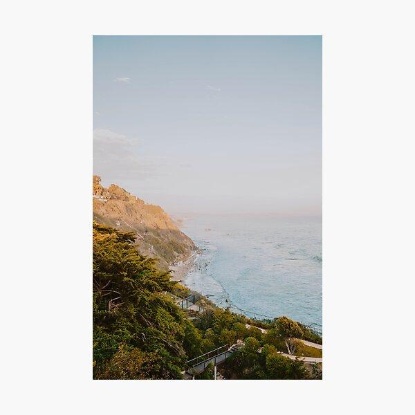 malibu coast ii / california Photographic Print