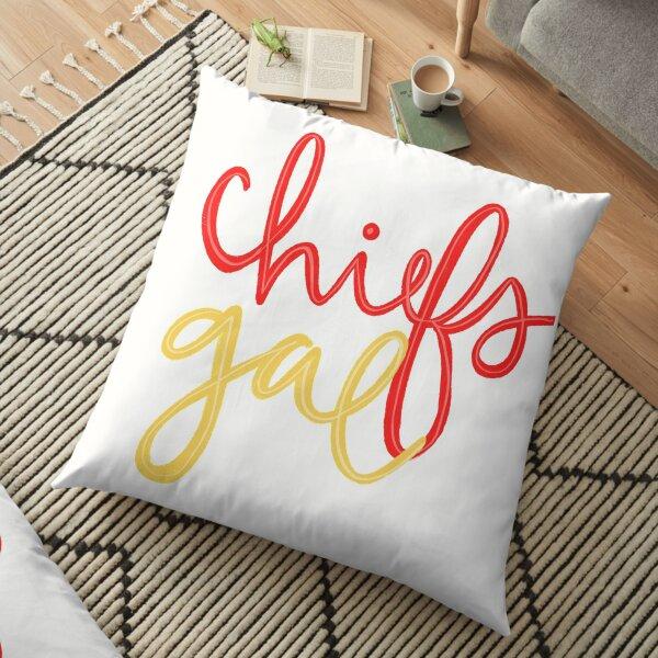 Chiefs Gal Floor Pillow